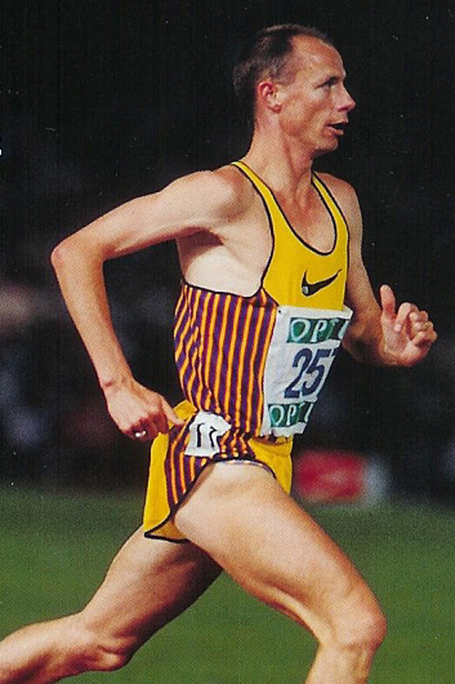 Herb Elliott - Previously held the world record for both the 1500m and mile.